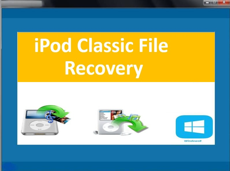 Recover files from iPod classic